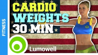 30 Minute Cardio Workout With Weights