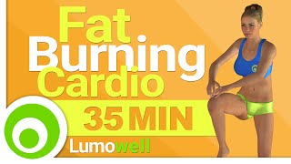 35 Minute Cardio Workout to Burn Fat at Home