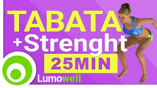 High Intensity Tabata + Strength Workout at Home