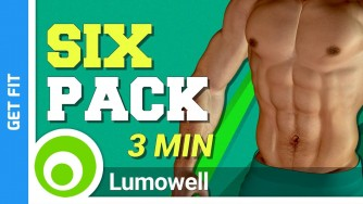 How To Get A Six Pack In 3 Minutes - ABS Workout At Home