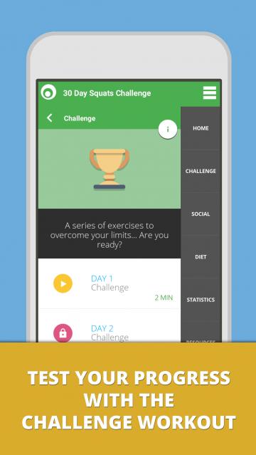 30 Day Squat Challenge - Lumowell