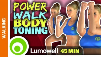 Walk At Home To Lose Weight - 3 Mile Power Walking Workout For Weight Loss